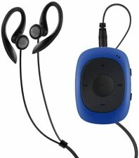 AGPtEK G02 8GB Portable Clip Player Music with FM Radio Support up to 64 GB BLUE
