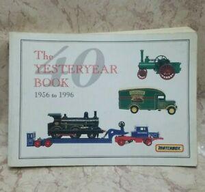 Matchbox, YESTERYEAR BOOK, 1956-1996
