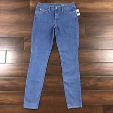 Gap Womens Sz 6 Long Light Wash Ultramarine Authentic True Skinny Denim Jeans