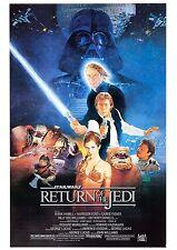 Return of the Jedi - Star Wars - Harrison Ford - A4 Laminated Mini Movie Poster