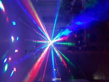 Iluminación DJ Chauvet Diamante Jam Pack Luz Estroboscópica SETA Máquina de Niebla + fluido