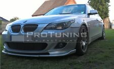 BMW E60 E61 M-Sport Front Bumper spoiler HM style lip M-Tech diffuser sport chin