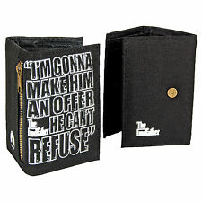 The Godfather Tri Fold Wallet. Classic Cool Movie Funky Gangster Brando Man Gift