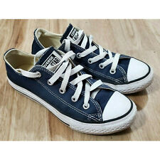 Converse Kids Sneakers Size 1 Chuck Taylor All Star Low Blue