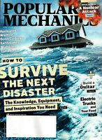 POPULAR MECHANICS MARCH 2018 - HOW TO SURVIVE THE NEXT DISASTER-WHAT YOU NEED