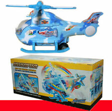 New Kids/Child Hot Flashing Lights B/O Music Infinite Pleasure Helicopter Toy UK
