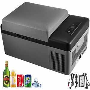Portable Car Fridge Freezer Cooler Mini Refrigerator 21QT 12V/24V Compressor
