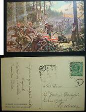 1918 La Grande Guerra Europea  offensiva Russa contro gli Austriaci  V. Polli?