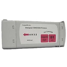 HP Designjet hp 5000 5500ps HP 81 Magenta  ink cartridge tank C4932A