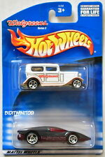 HOT WHEELS 2 CAR PACK 2000 WALGREENS FORD DELIVERY SILVER BULLET