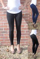 LONG LENGTH HIGH WAIST STIRRUP Leggings Cotton Tall Size 8 10 12 14 16 18 20 S M