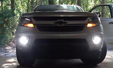Halo Fog Lamps Lights for 2015 2016 2017 2018 2019 2020 2021 Chevrolet Colorado