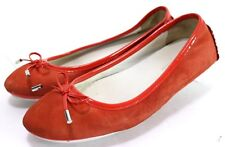 Donald J Pliner RIKI $84 Women's Flats Shoes Size 7.5 Leather Red
