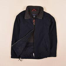 Gant Junge Kinder Jacke Jacket Gr.134 Fleece-Futter Sport Short Navy Blau, 73238