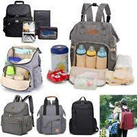 Mummy Maternity  Baby Diaper  Travel Backpack Nappy Organizer Nursing  New