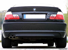 Free Ship 1999-2005 BMW E46 3 Series 2D M3 Unpainted Trunk Lip Spoiler Wing