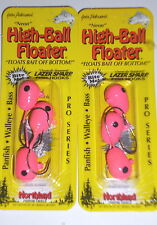 Northland Tackle High-Ball 2/0 Floating Jigheads (Lot of 2-Pink-3/pack)