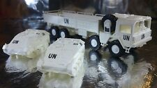 * Roco Minitank 634 United Nations Man 454 Lorry and 2 Wiesel Vehicles