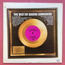 Dionne Warwick - The Best Of Dionne Warwicke - Zepter Records CTN-18001 Ex