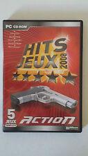 HITS JEUX 2008 - PC - JEU PC ACTION