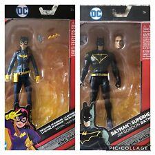 DC Multiverse Jim Gordon Batman and Batgirl of Burnside Action Figures