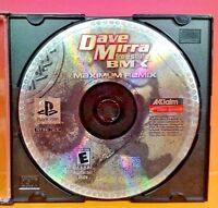 Dave Mirra Freestyle BMX Maximum Remix Playstation 1 2 PS1 PS2 Rare Game Tested