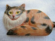 HAND PAINTED FANCY CAT BACK SCRATCHER-GREAT FOR EVERYONE-UNIQUE DESIGN