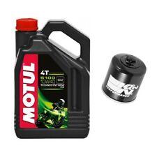 Motul 5100 oil & K&N filter service kit Kawasaki ZX14R ZX14-R Ninja 2006-2014