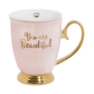 NEW Cristina Re Mug Beautiful Blush Bone China Partyware Gifts School