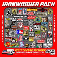 Ironworker Iron Worker 52 Hard Hat Stickers Hardhat Sticker Amp Decals Helmet