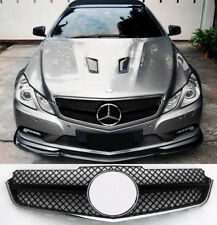 Mercedes E class coupe/convertible w207/c207/a207,2009-13,AMG Grill,GLOSS BLACK