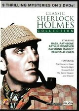 The Classic Sherlock Holmes Collection (DVD 2-Disc Set) 9 Thrilling Mysteries