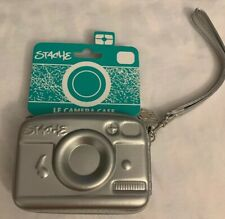 Stache Le camera case small Silver