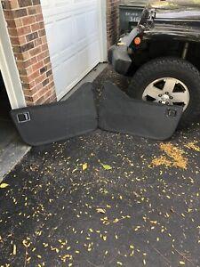 Jeep Wrangler YJ / CJ7 / CJ8 Bestop Soft Doors - Lower 1/2