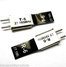 RC Remote Control 27 MHZ 27.195 FM Crystal RX & TX