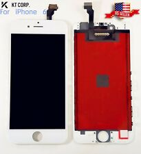 "USA iPhone 6 White 4.7"" LCD Display Touch Screen + TPU Hard Clear Phone Case"