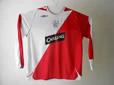 UMBRO XXL Glasgow RANGERS Scotland CARLING Soccer Football Long Sleeve Shirt