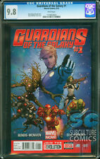 GUARDIANS OF THE GALAXY #1 - CERTIFIED CGC 9.8 - MARVEL RELAUNCH - MOVIE 8/1/14