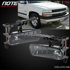 For 00-06 Chevy Suburban/ Tahoe  Bumper Fog Lights Driving Lamps Smoke