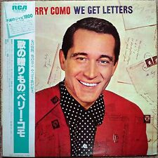"""1983 """"NM Wax"""" Perry Como We Get Letters RJL-2632 Mono Japan Re-Issue"""