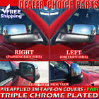 For 2002-2008 Dodge Ram 1500 03-09 2500-5500 Chrome Towing Mirror COVERS HALF