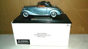 1/18 SCALE DIECAST SIGNATURE MODELS 1950 MERCEDES BENZ 170S GERMAN CAR BOXED