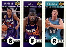 1996-97 Collector's Choice Mini-Cards: Complete set from series 1. (30 cards).