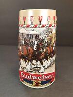 Vintage Budweiser Collector's B Series 1986 Ceramarte Brazil Beer Mug Stein