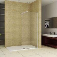 Walk In Corner Shower Enclosure: -1700 x 750mm Tray  x 1000mm Glass
