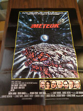 METEOR 1979 ORIGINAL MOVIE LOT VARIETY POSTER, ADVANCE, ADS, SOLAR SYSTEM GUIDE