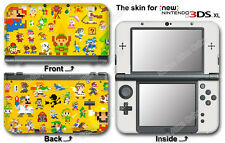Super Mario 3D Land Classic Skin Sticker Decal Cover #2 for NEW Nintendo 3DS XL