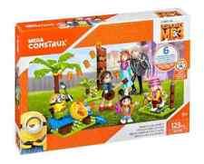 Mega Bloks Construx Despicable Me 3 Family Luau Party Kids Creative Building Toy