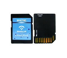 Spectec Cloud Flash Wireless LAN Adapter Wi-Fi SDHC for microSD Cards