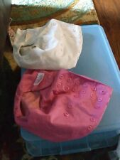 Lot Of 2 Flip Baby Cloth Diapers